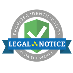Legal text by Dr. Schwenke - please click for further information.